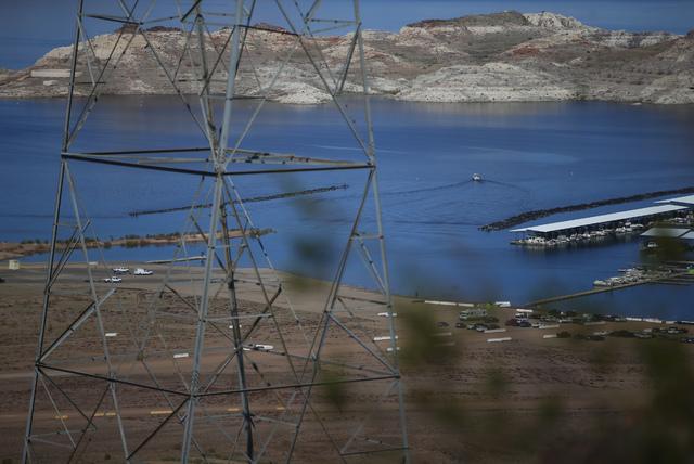 Lake Mead National Recreation Area on Tuesday, Feb. 14, 2017.(Chase Stevens/Las Vegas Review-Journal) @csstevensphoto