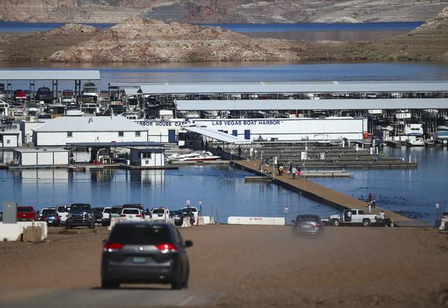 Las Vegas Boat Harbor at Lake Mead National Recreation Area on Tuesday, Feb. 14, 2017. Chase Stevens/Las Vegas Review-Journal) @csstevensphoto