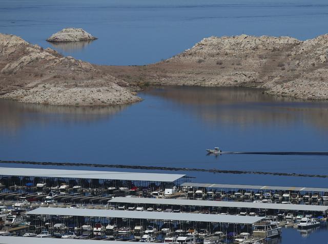 Hemenway Harbor at Lake Mead National Recreation Area on Tuesday, Feb. 14, 2017. Chase Stevens/Las Vegas Review-Journal) @csstevensphoto