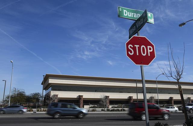 Property owned by Las Vegas businessman Edwin Fujinaga along Durango Road near Mesa Vista Avenue in Las Vegas on Wednesday, Feb. 1, 2017. (Chase Stevens/Las Vegas Review-Journal) @csstevensphoto