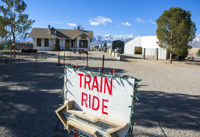 A western themed theme park available for guests at the Western Elite Ranch near U.S. 93 Highway about 60 miles north of Las Vegas on Wednesday, Jan. 25, 2017. (Jeff Scheid/Las Vegas Review-Journa ...