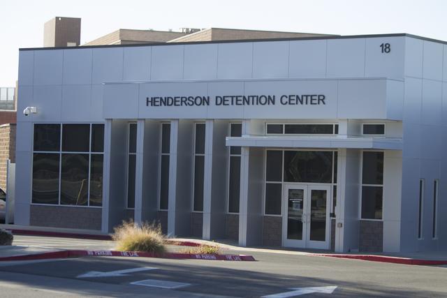 The Henderson Detention Center on Friday, Feb. 24, 2017, in Henderson, Nev. (Erik Verduzco/Las Vegas Review-Journal) @Erik_Verduzco