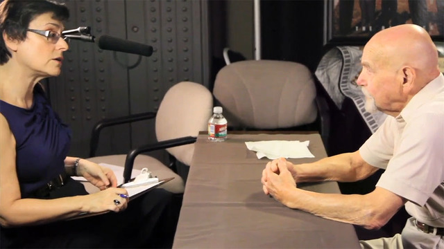 Henderson's Esther Finder, left, is seen in a Passing the Torch video, part of the Southern Nevada Jewish Heritage Project. To view the video, go to bit.ly/2kEjKJk. (Courtesy UNLV)