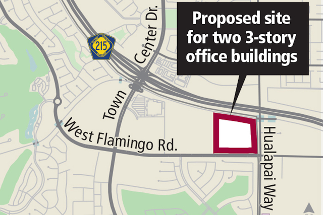 Howard hughes corp plans new office complex in southwest for Two story office building plans