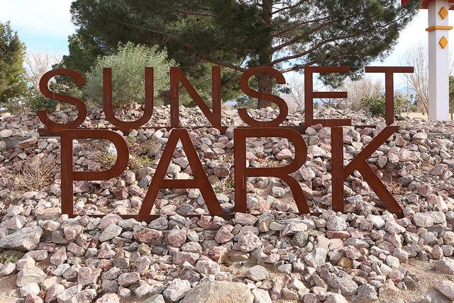 Sunset Park in Las Vegas (Bizuayehu Tesfaye/Las Vegas Review-Journal)