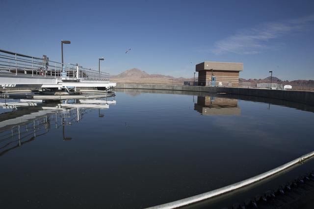 The Henderson waste water treatment plant on Wednesday, Feb. 1, 2017, in Henderson. (Erik Verduzco/Las Vegas Review-Journal) @Erik_Verduzco