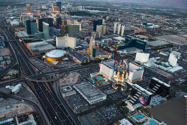 The Las Vegas Strip (Tom Donoghue/Special to the Las Vegas Review-Journal)
