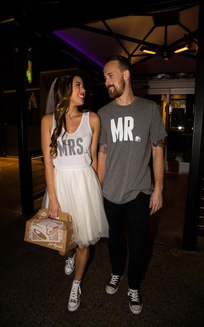 Coming Soon To Las Vegas Strip Wedding Bells At Taco Bell