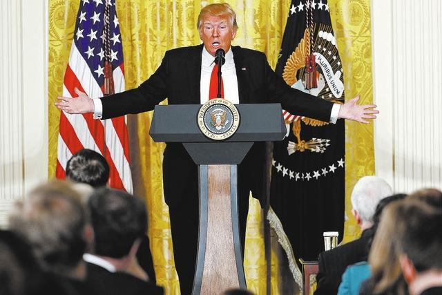 President Donald Trump. AP Photo/Pablo Martinez Monsivais