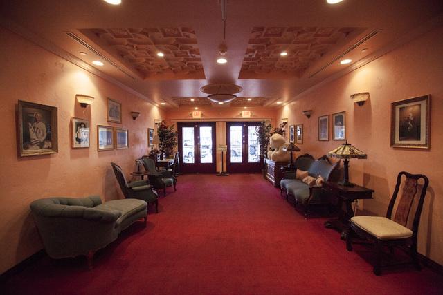 The interior of the Boulder Theatre in Boulder City on Friday, Feb. 3, 2017. (Miranda Alam/Las Vegas Review-Journal) @miranda_alam