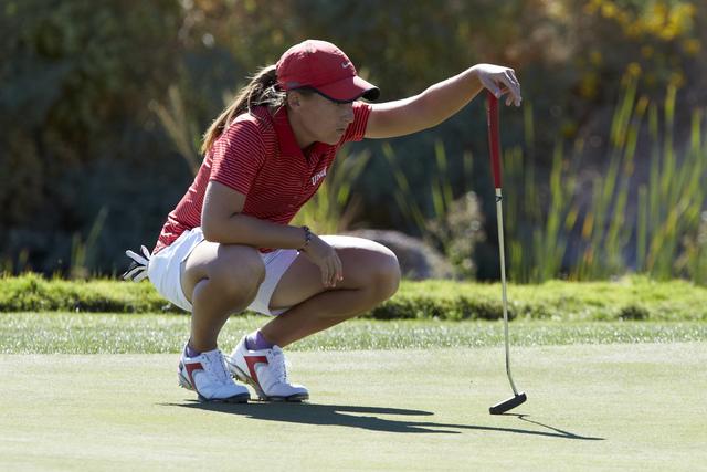 Dana Finkelstein. UNLV women's golf team during the Las Vegas Collegiate Showdown held at Boulder Creek Golf Course in Boulder City on October 28, 2014. (R. Marsh Starks/UNLV Photo Services)
