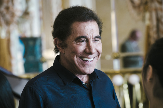 Steve Wynn, chairman and chief executive officer of Wynn Resorts (Calvin Sit/Bloomberg)