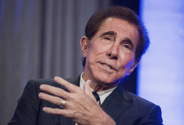 Casino resort developer Steve Wynn speaks during the International Conference on Risk Taking convention at the Mirage on Tuesday, June 7, 2016.  (Las Vegas Review-Journal)