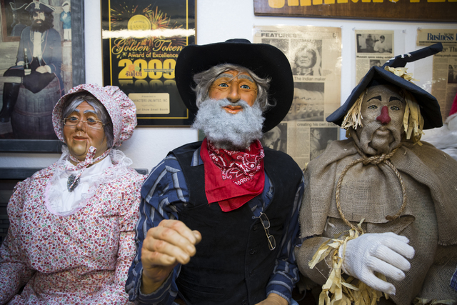 Full size characters at the Characters Unlimited workshop on Thursday, Feb. 2, 2017, in Boulder City. (Erik Verduzco/Las Vegas Review-Journal) @Erik_Verduzco