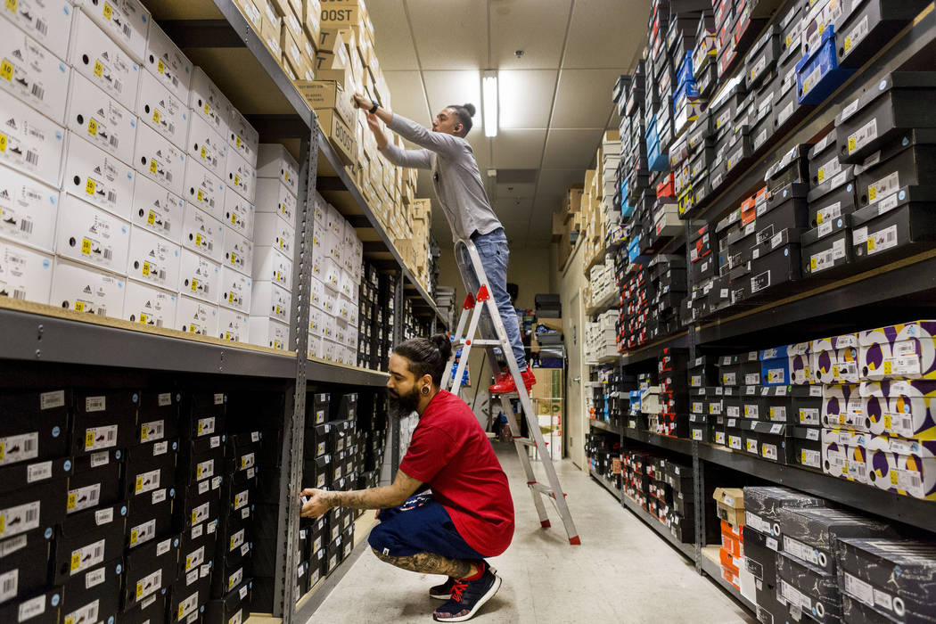 new product e9819 74655 Las Vegas sneakerheads foster culture of footwear and ...