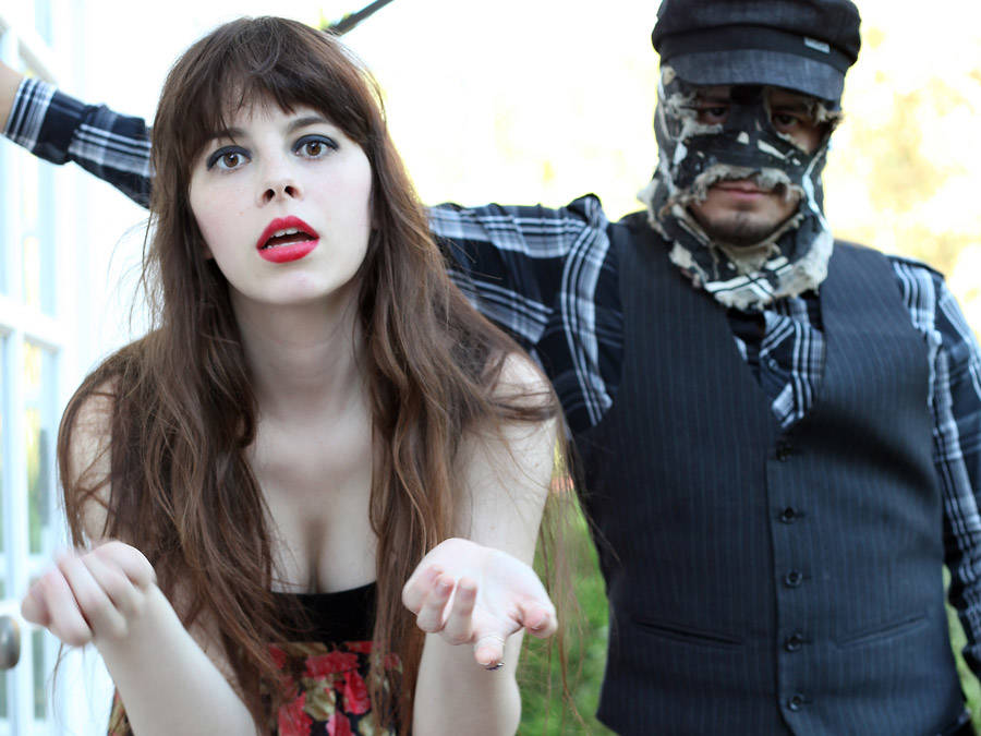 The always in-your-face Le Butcherettes play The Bunkhouse on Saturday.