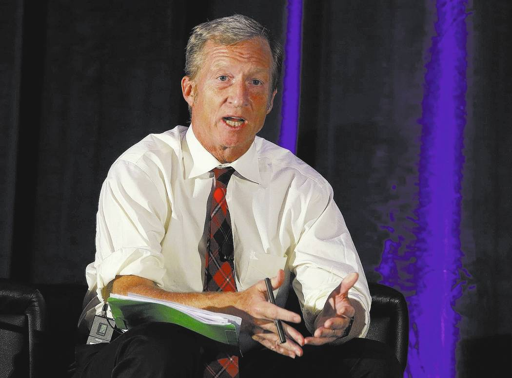 Billionaire environmentalist Tom Steyer. AP Photo/Rich Pedroncelli,File