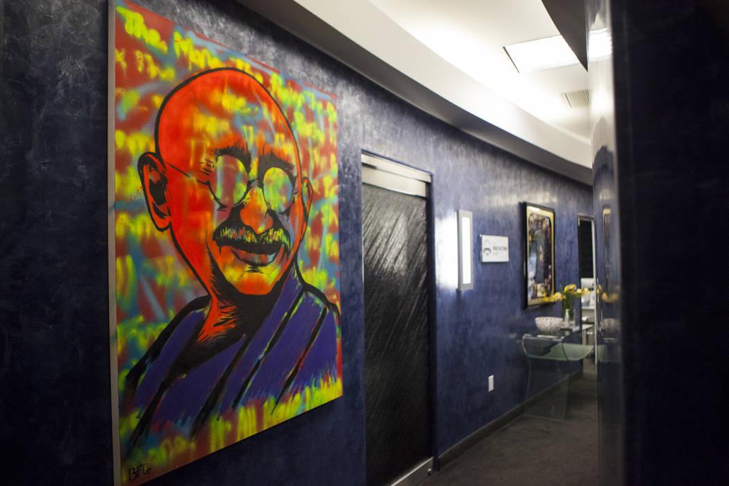 The interior of the Voice Actors Studio in Henderson on Wednesday, March 8, 2017. (Miranda Alam/Las Vegas Review-Journal) @miranda_alam