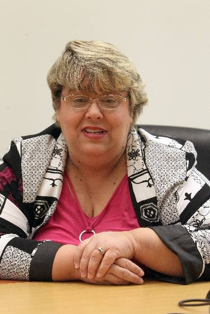 North Las Vegas Councilwoman Anita Wood. (Las Vegas Review-Journal file)
