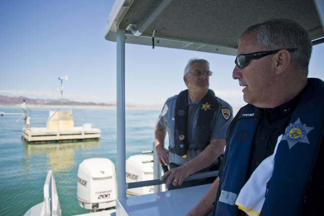National weather service helps boaters stay safe las for Nevada game and fish
