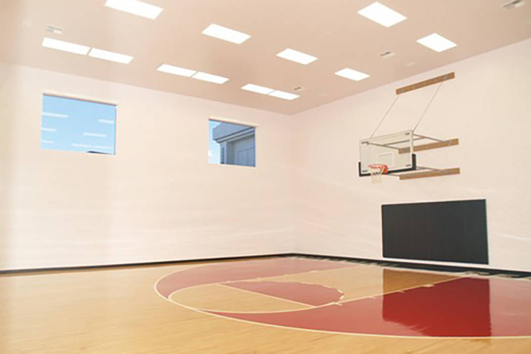 Former home of las vegas strip club owner sells for 6 2m Indoor half court basketball cost