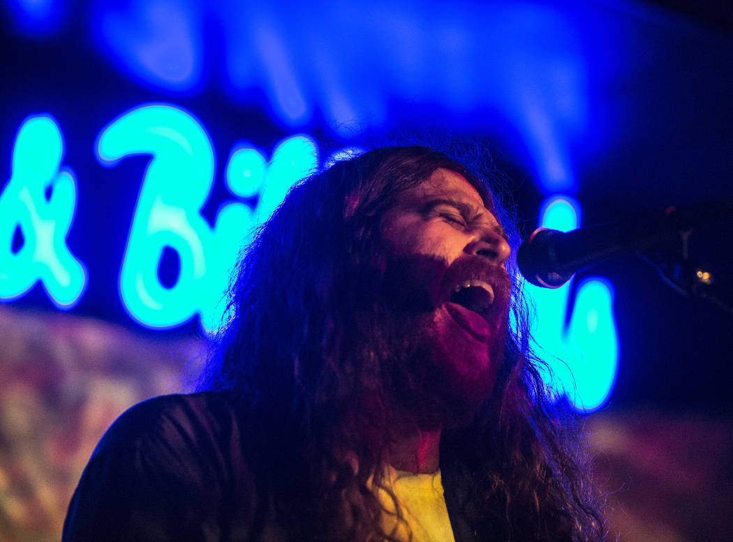 JJuuJJuu performs at Backstage Bar & Billiards during the Neon Reverb music festival on Friday, March 10, 2017, in Las Vegas. (Benjamin Hager/Las Vegas Review-Journal) @benjaminhphoto