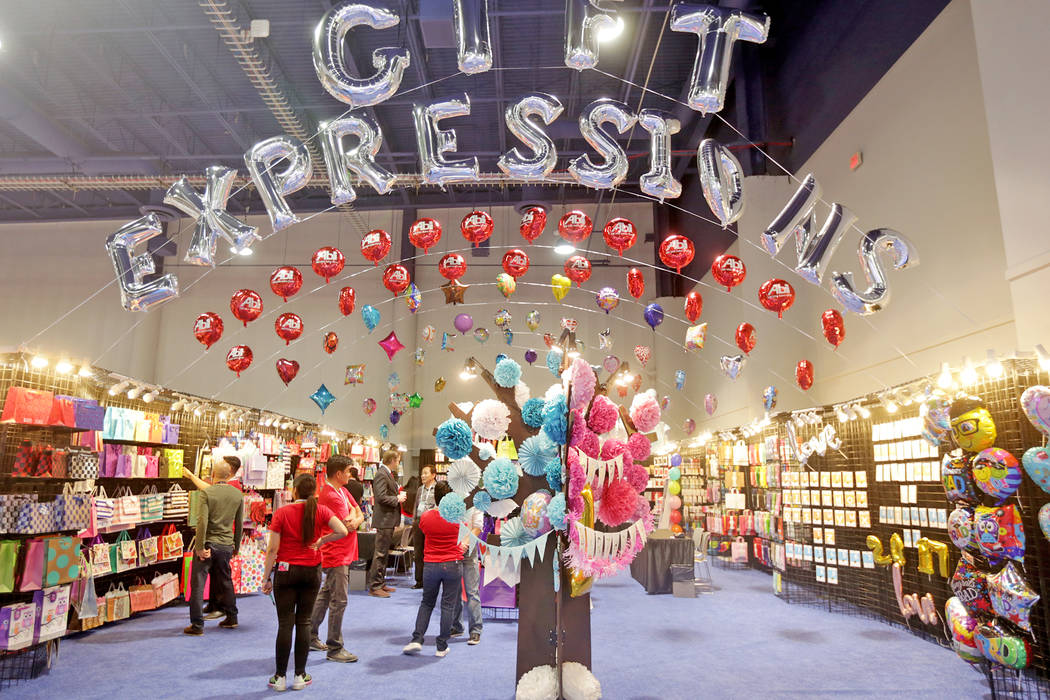 The booth of the Abi USA Sales Corp. at the ASD trade show on Sunday, March 19, 2017, at the Las Vegas Convention Center in Las Vegas. (Rachel Aston/Las Vegas Review-Journal) @rookie__rae