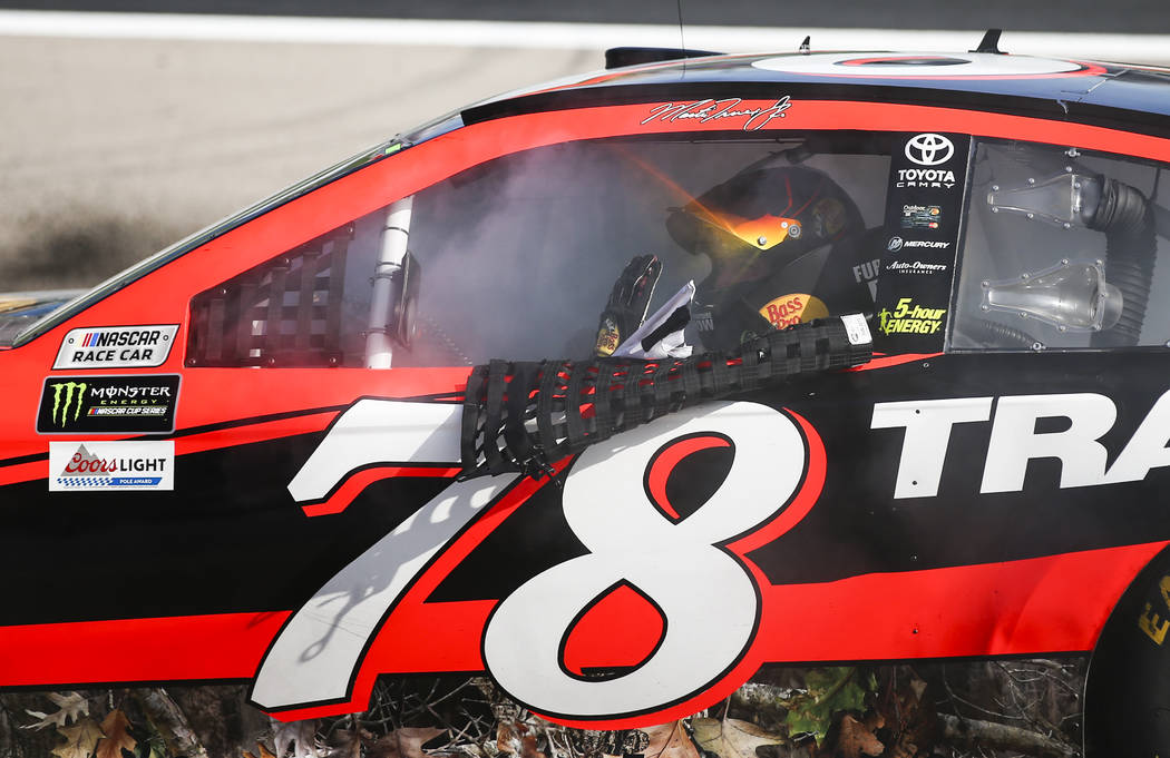 Here S The Results Of The Kobalt 400 Las Vegas Review Journal