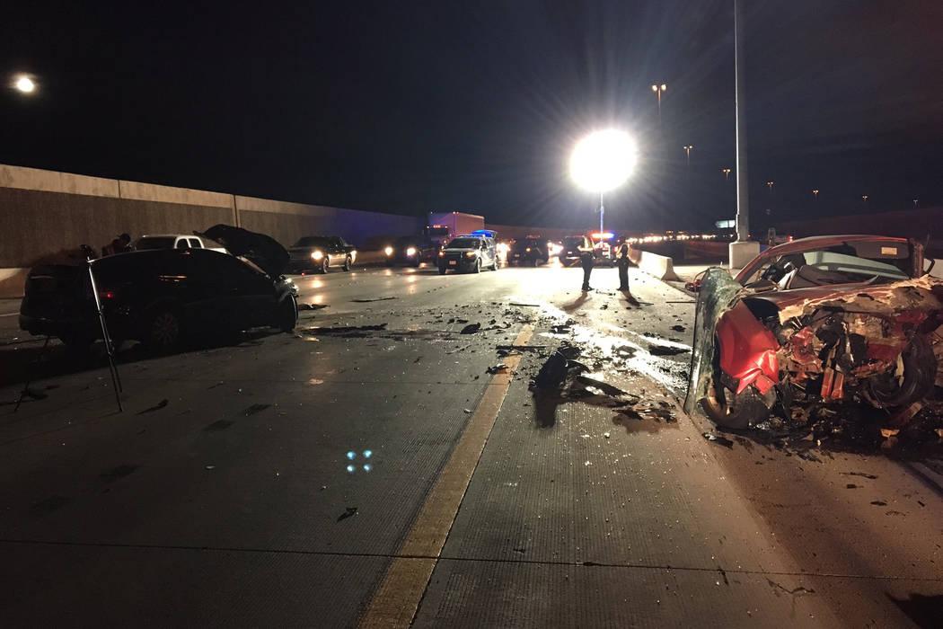 Coroner IDs Las Vegas man killed in 215 Beltway crash | Las Vegas