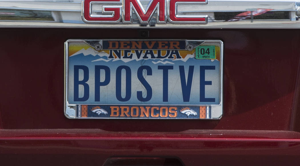 nevada drivers love their vanity plates | las vegas review-journal