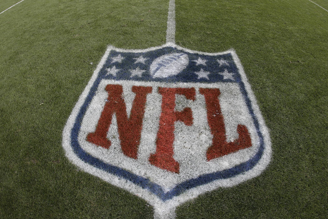 The NFL logo is seen in this undated photo. (Jack Dempsey/AP)