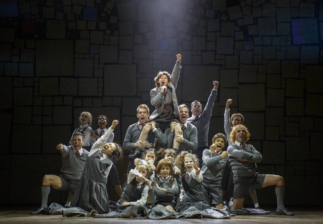 """Matilda the Musical."" (Joan Marcus)"