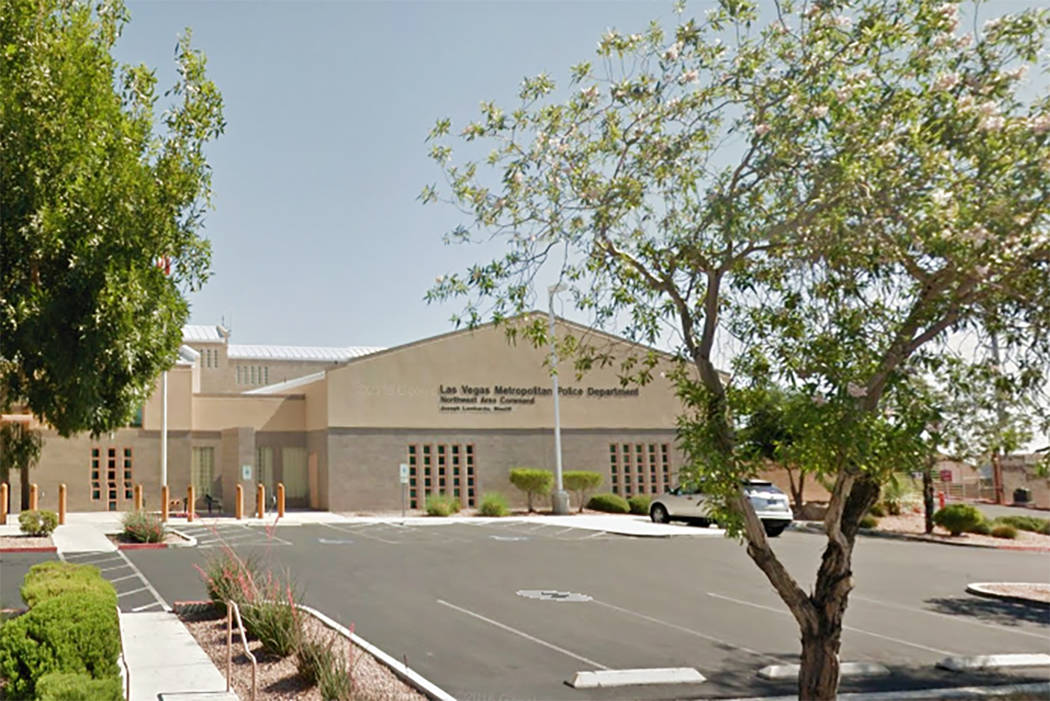 Metro's Northwest Area Command at 9850 W. Cheyenne Ave. in Las Vegas. (Google Street View)
