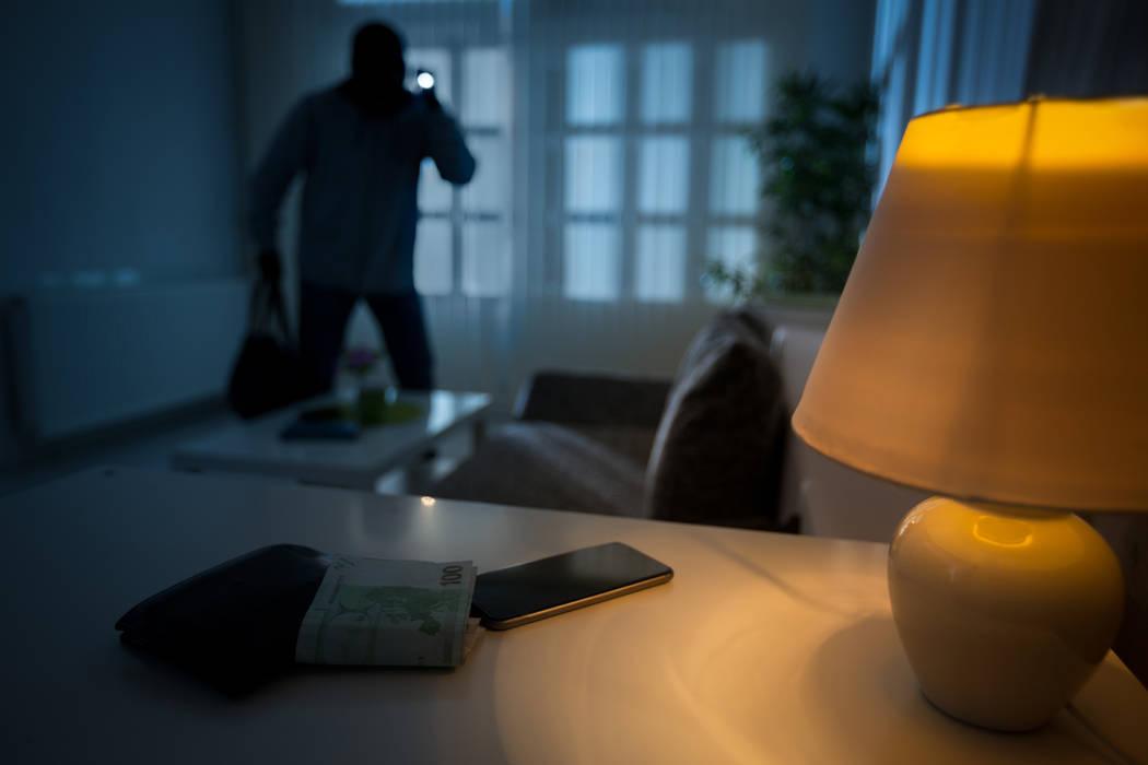 Home burglar. (Thinkstock)
