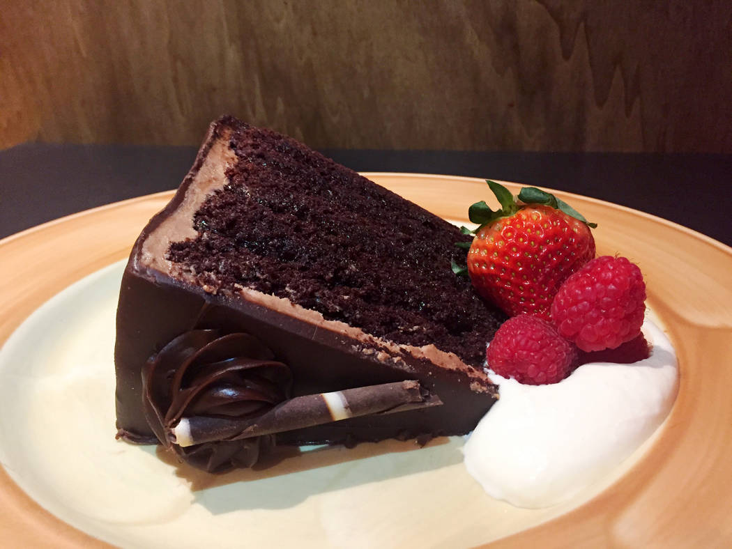 Chocolate layer cake (courtesy Silverton)
