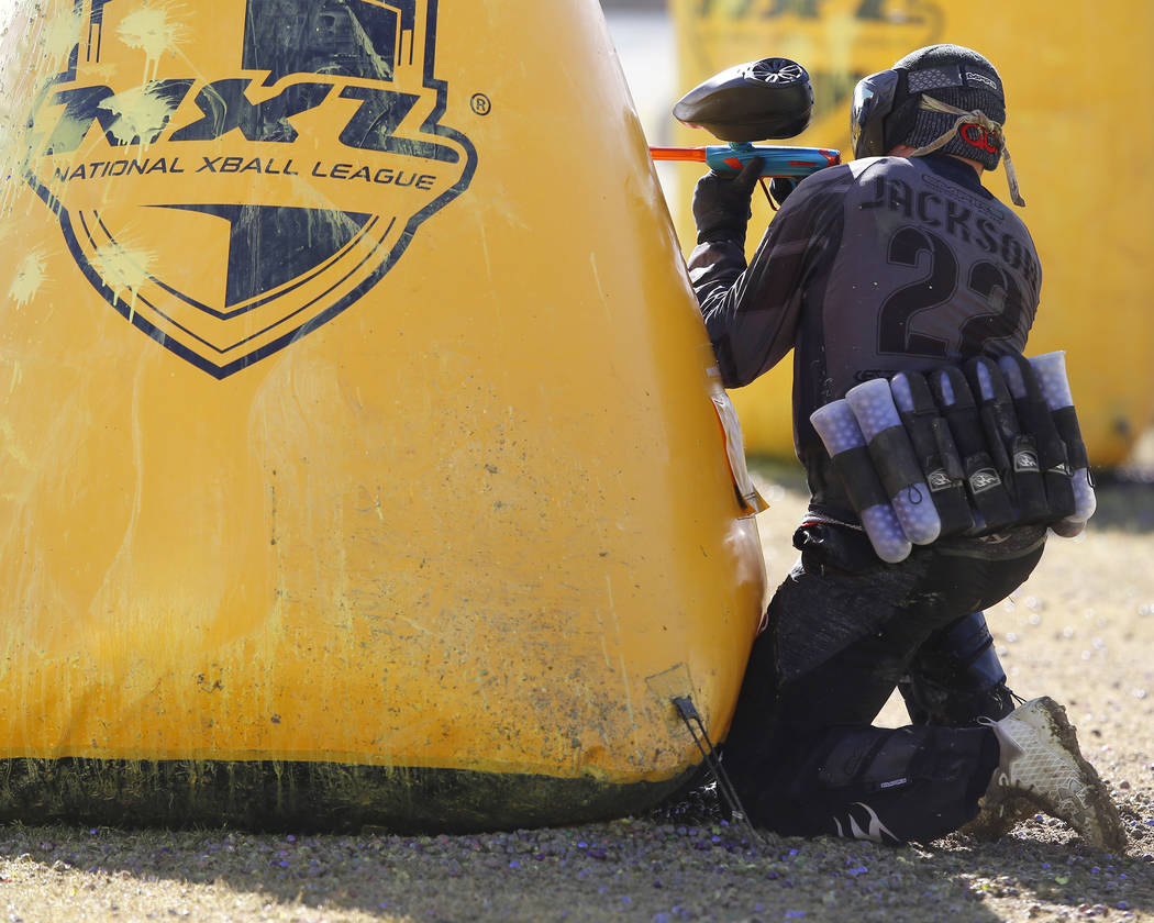 Paintball players against MIA special forces