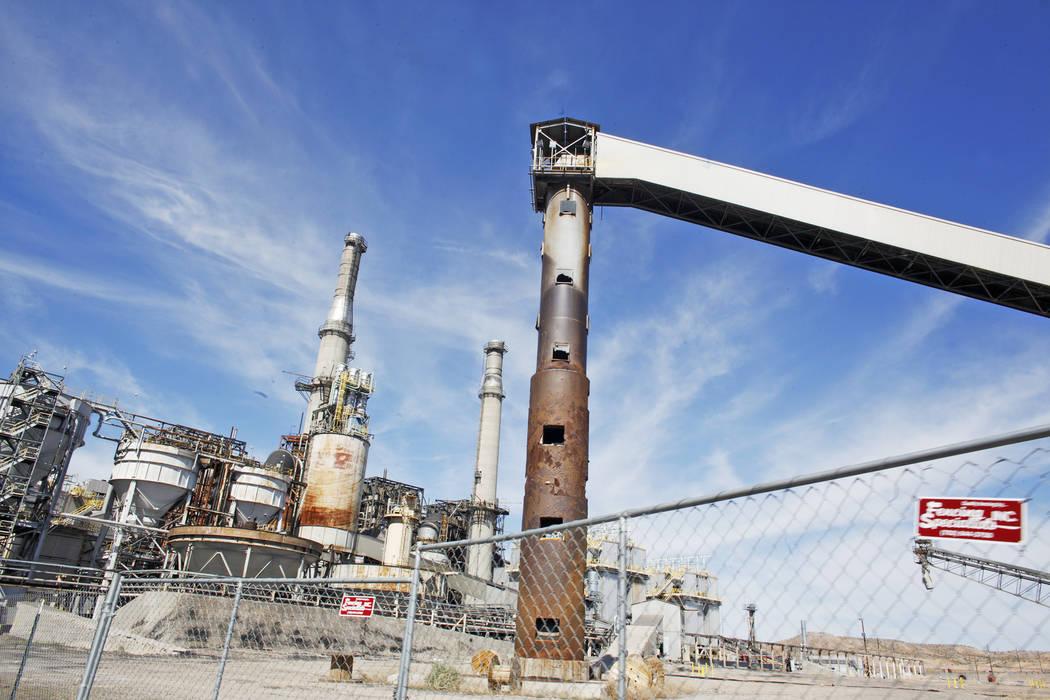 The Reid Gardner Generating Station on Thursday, March 16, 2017, in Moapa, Nev. (Rachel Aston/Las Vegas Review-Journal) @rookie__rae