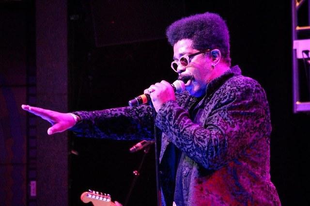 Cameo frontman Larry Blackmon (Las Vegas Review-Journal)