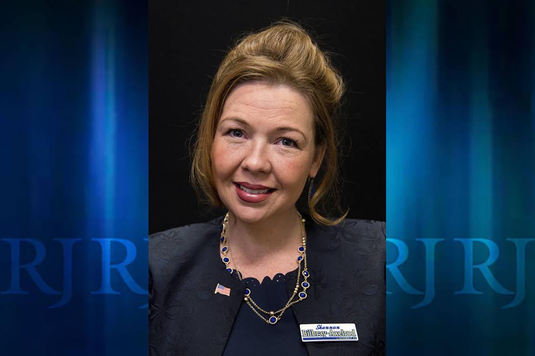 Nevada Assemblywoman Shannon Bilbray-Axelrod (Las Vegas Review-Journal)