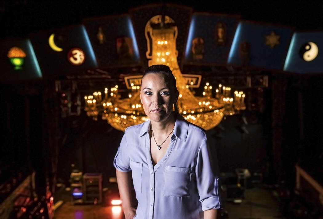 Griselda Torres, director of music hall operations at House of Blues, on Friday, March 17, 2017, at Mandalay Bay hotel-casino, in Las Vegas. (Benjamin Hager/Las Vegas Review-Journal) @benjaminhphoto