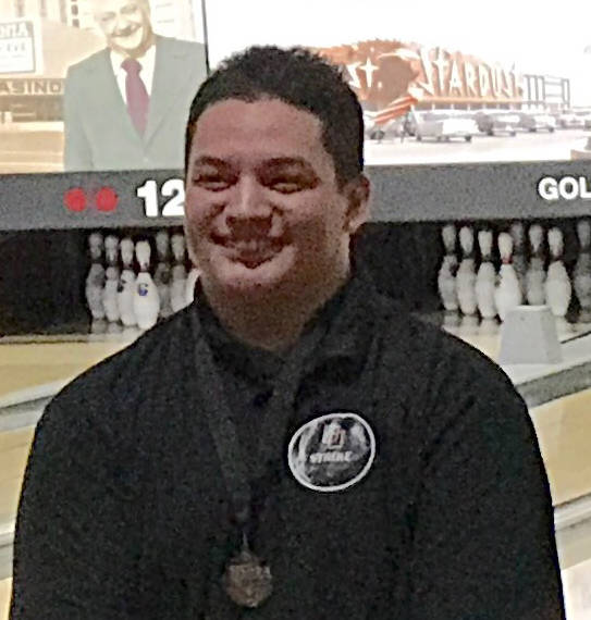 Desmond Kuresa, Desert Oasis: Desert Oasis lost handily in the first round of the Sunset Region tournament, but Kuresa managed to stand out. He had a 556 series to place fifth at the Class 4A indi ...