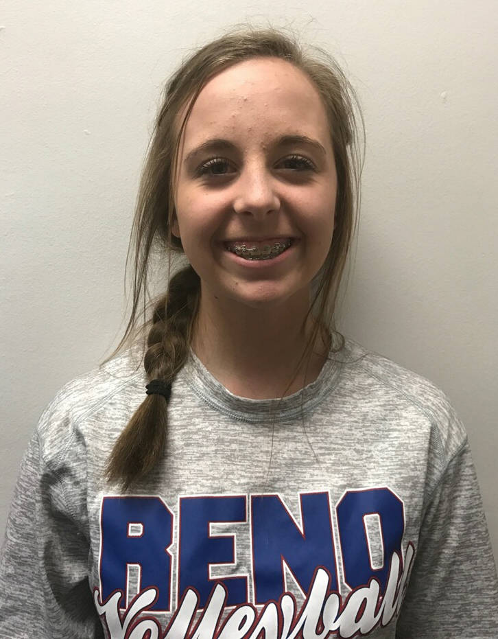 Hana Kamler, Reno: The freshman finished in the top 10 of every race before the state meet, including a fourth-place finish in the first race of the season.
