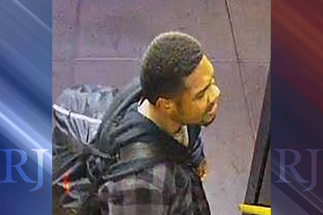 Police are looking for a man wanted in connection with a violent fight that happened on Jan. 15. (Las Vegas Metropolitan Police Department)