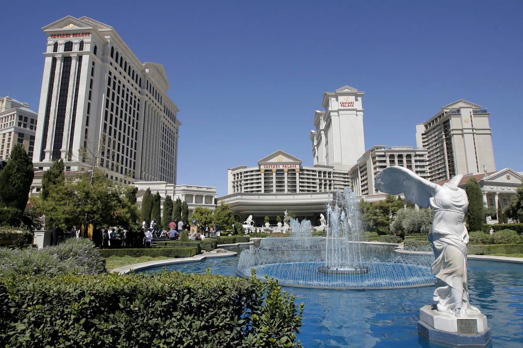 Caesars Palace hotel-casino in Las Vegas. (Jae C. Hong/AP)