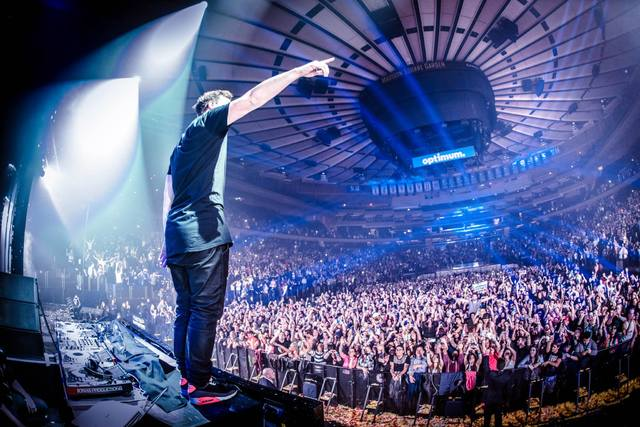 Hardwell headlines at Madison Square Garden in New York City. (Courtesy)
