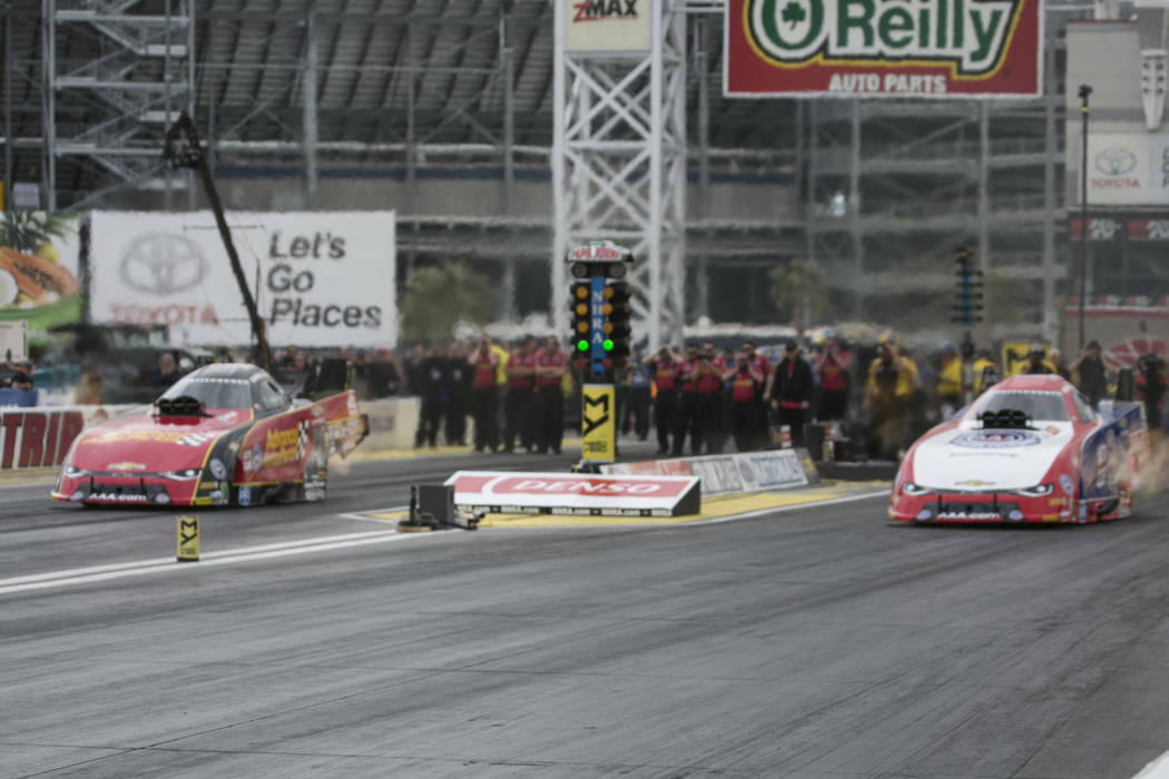Courtney force sets las vegas track record in nhra for La motors las vegas