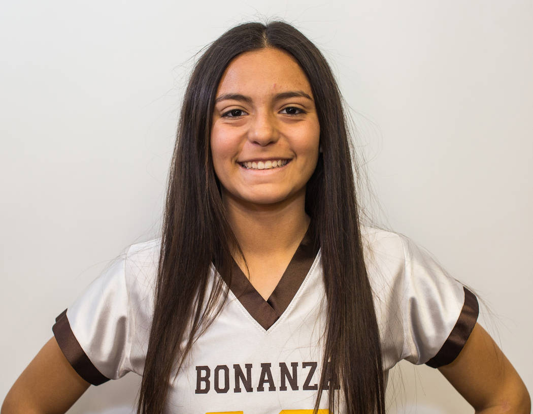 Brianna Hernandez-Silva, Bonanza: The senior threw for 1,733 yards and 22 touchdowns and ran for 2,671 yards and 26 scores for the Bengals.