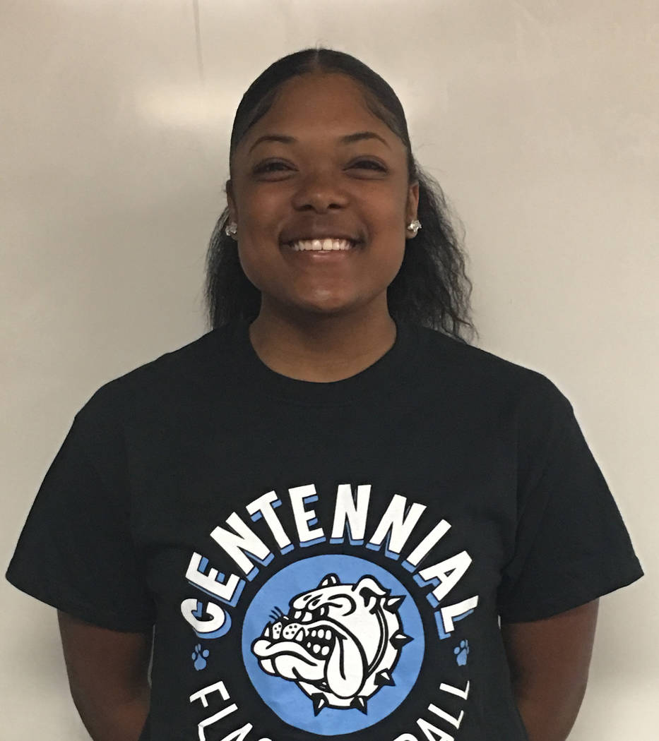 LeNae Thomas, Centennial: The senior ran for 1,907 yards and scored 28 total touchdowns. Thomas also made 93 tackles on defense for the Bulldogs.