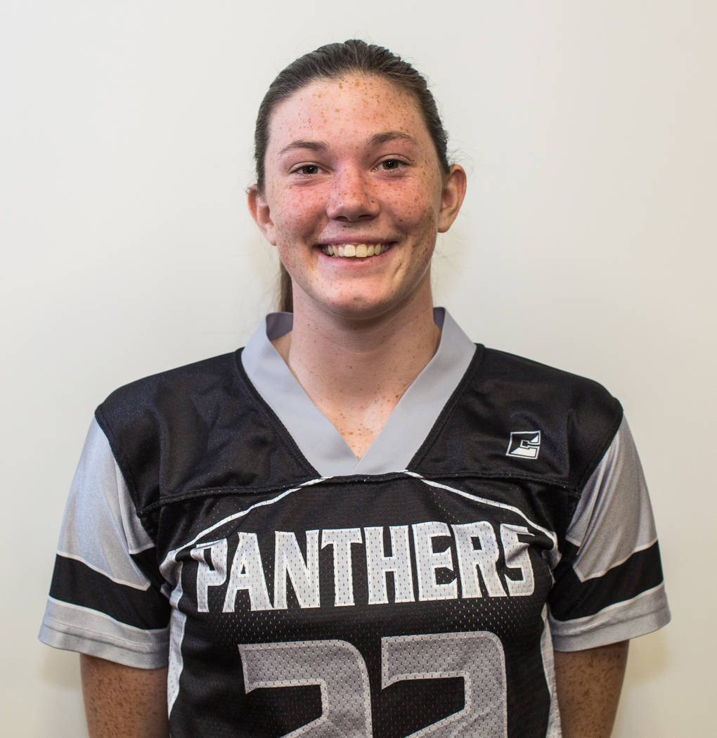 Betsy Bellinger, Palo Verde: The junior was arguably the Panthers' top two-way player. She caught a pair of touchdowns in the Sunset Region tournament to lead Palo Verde to a region runner-up fi ...
