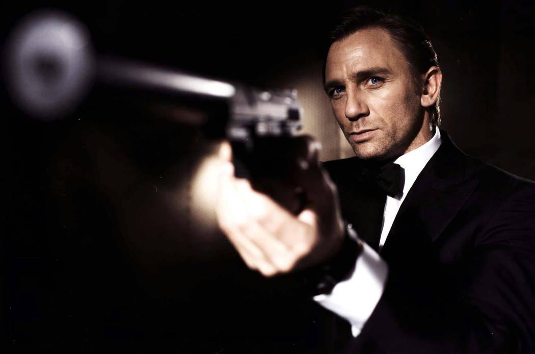 Daniel Craig as James Bond (EON Productions/AP)